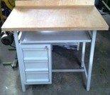 77156995 Stół warsztatowy specjalny, 3 szuflady (wymiary: 1200x800x1100 mm)