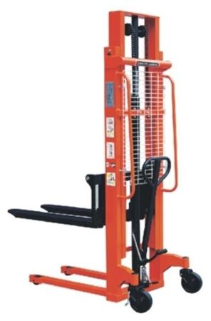 DOSTAWA GRATIS! 00543617 Wózek podnośnikowy ręczny z widłami regulowanymi oraz dodatkowa pompą nożną (udźwig: 1000 kg, min./max. wysokość wideł: 90/2500 mm)