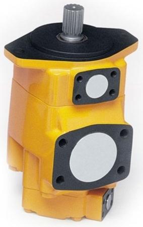 DOSTAWA GRATIS! 01539192 Pompa hydrauliczna łopatkowa dwustrumieniowa B&C (objętość geometryczna: 193,4+121,6 cm³, maks prędkość: 2200 min-1 /obr/min)