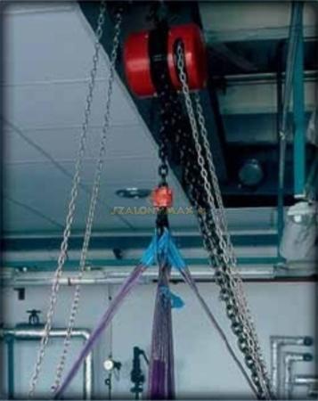 DOSTAWA GRATIS! 2202699 Wciągnik łańcuchowy z przekładnią planetarną Z100/3.2t (wysokość podnoszenia: 3m, udźwig: 3,2 T)