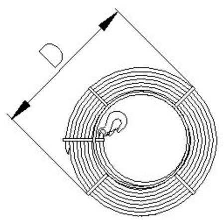 DOSTAWA GRATIS! 2203106 Wciągnik linowy, rukcug 30.10/0.8t (długość liny: 20m, udźwig: 0,8 T)