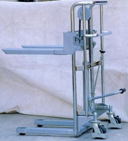 DOSTAWA GRATIS! 31046309 Wózek podnośnikowy z wyciągarką (udźwig: 400 kg)