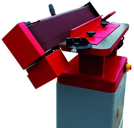 DOSTAWA GRATIS! 44349991 Szlifierka krawędziowa z oscylacją Holzmann 230V (wymiary taśmy: 2260x150 mm, wymiary blatu: 800x180 mm)