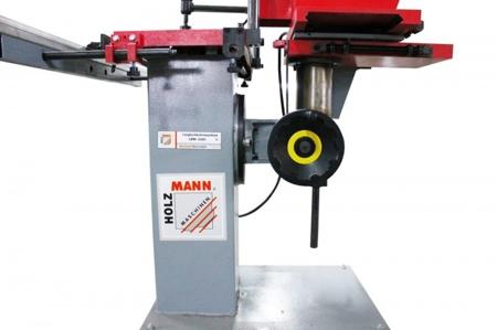 DOSTAWA GRATIS! 44350002 Wiertarka pozioma Holzmann 400V (max. długość obróbki: 250 mm, wymiary blatu: 600x320 mm)