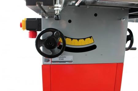 DOSTAWA GRATIS! 44350024 Tarczówka stolarska Holzmann 230V (max średnica brzeszczotu piły: 254 mm, stół roboczy: 800 x 350+270 mm)