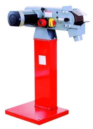 DOSTAWA GRATIS! 44350101 Szlifierka taśmowa do metalu Holzmann 400V (wymiary taśmy: 1220x100 mm, prędkość taśmy: 19 m/min, moc: 2,1 kW)