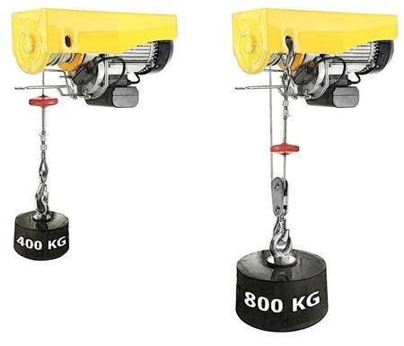 DOSTAWA GRATIS! 55928531 Wyciągarka linowa elektryczna Industrial 400/800 230V, hamulec automatyczny (udźwig: 400/800 kg)