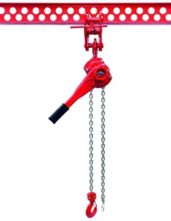 DOSTAWA GRATIS! 9588187 Wciągnik łańcuchowy dźwigniowy, rukcug, łańcuch Ogniwowy (udźwig: 6,0 T)