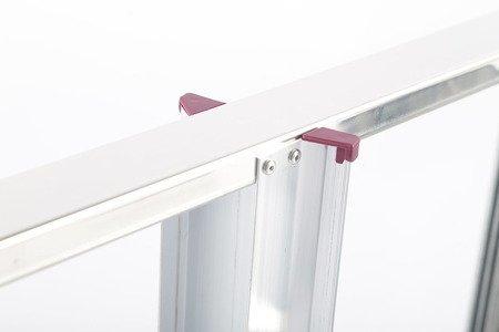 DOSTAWA GRATIS! 99674645 Aluminiowa drabina domowa Krause Corda 7 stopnie (wysokość robocza: 3,45m)