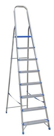 DOSTAWA GRATIS! 99674660 Drabina wolnostojąca Drabex 6 stopniowa (wysokość robocza: 3,29m)