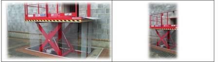 Dźwignik nożycowy przeładunkowy (udźwig: 4000 kg, wymiary platformy: 3000x2000mm, wysokość podnoszenia min/max: 410-2010mm, moc: 4,4kW) 03076244