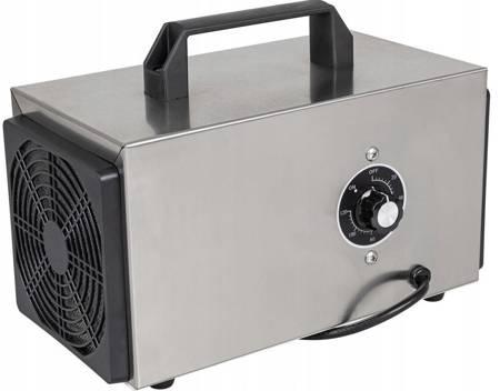 Ozon24 Generator ozonu przemysłowy ozonator (wydajność: 10 g/h, przepływ powietrza: 200 m3/h, moc: 70W 240V) 17776589