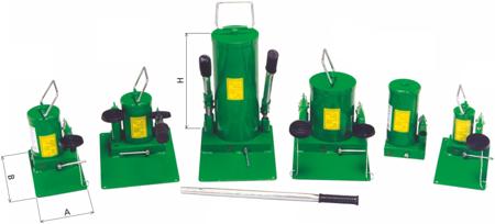 Pompa hydrauliczna ręczna (pojemność zbiornika: 1,1 dm3) 62725753