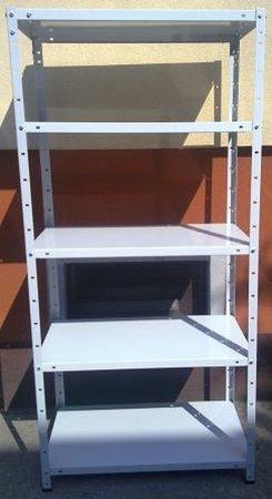 Regał metalowy, 6 półek (wymiary: 3000x900x700 mm, obciążenie półki: 150 kg) 77156799