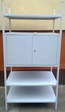 Regał metalowy, szafka, 3 półki (wymiary: 2000x900x600 mm) 77156808