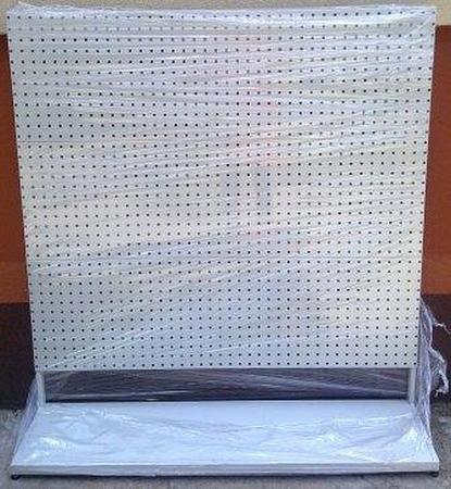 Regał perforowany pod zawieszki (wymiary: 1600x1500x400 mm) 77157007