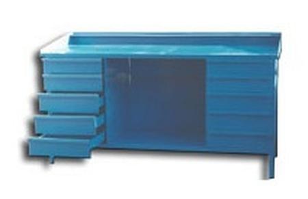 Stół ślusarski, 10 szuflad (wymiary: 2000x800x900 mm) 77156874