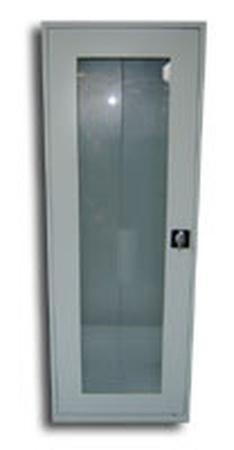 Szafa biurowa przeszklona, 1 drzwi, 5 półek (wymiary: 1800x600x460 mm) 77157063