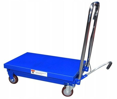 TOWBUS Wózek paletowy nożycowy platformowy masztowy (udźwig: 250 kg, wymiary platformy: 45x69 cm, wysokość podnoszenia: 22-73 cm) 13776272