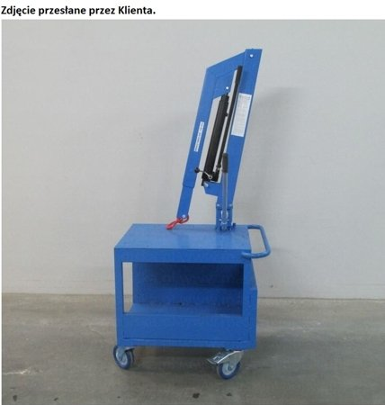 Tretok Stół przesuwny z żurawiem (udźwig: 150 kg) 61745542