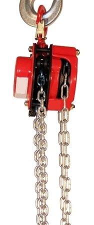 Wciągnik łańcuchowy ręczny (udźwig: 1,5 T, długość łańcucha: 3m) 03076071