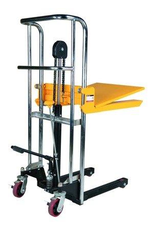 Wózek paletowy/platformowy podnośnikowy GermanTech (max wysokość: 85-1500 mm, udźwig: 400 kg, długość wideł: 650 mm) 99724818